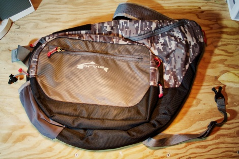 Orvis Guide Sling Pack being reviewed