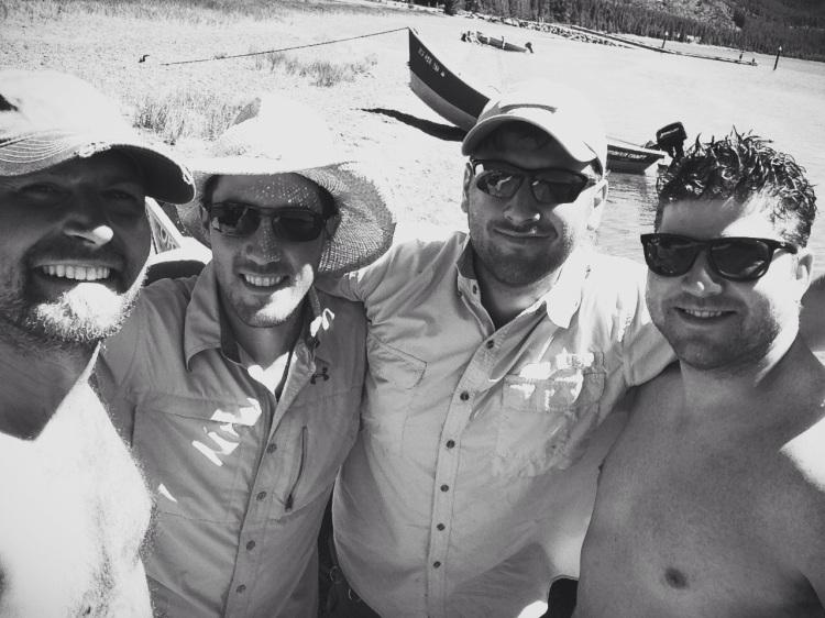 The men at East Lake 2013
